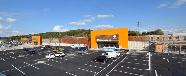 Centre commercial Valentin Besançon