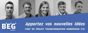 Chef de projet Transformation numérique F/H