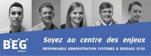 Responsable administration systèmes & réseaux F/H