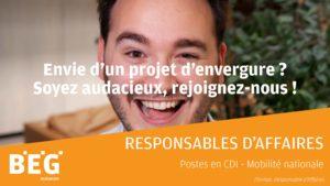 Responsables d'Affaires (H/F)